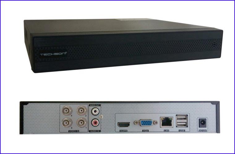 TechSon TC-DVR SS3204 Eco FULL HD digitális képrögzítő és videó felvevő