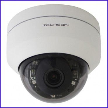 Techson TCA EB1 P102 IH Z3 kültéri mini PTZ dóm biztonsági kamera motorosan állítható látószögű optikával, motoros forgatással és döntéssel
