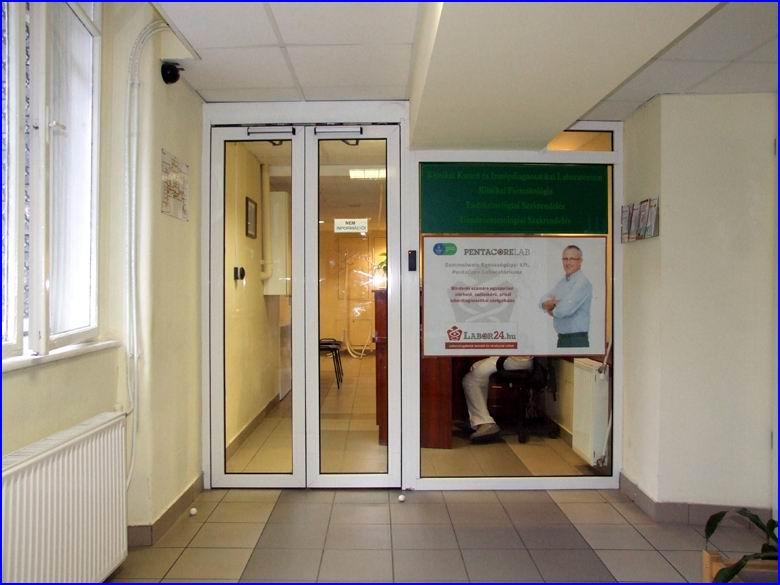 Ajtónyitó referencia - SOTE - I. sz. Belgyógyászati Klinika