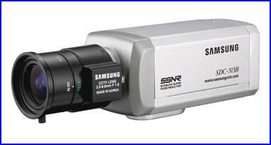SAMSUNG SDC-313B biztonsági kamera, éjjellátó biztonsági kamera