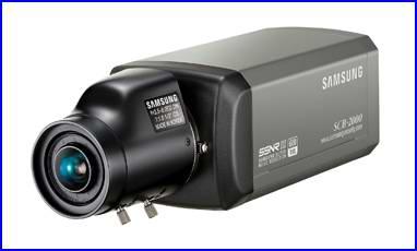 SAMSUNG SCB-2000 biztonsági kamera, éjjellátó biztonsági kamera