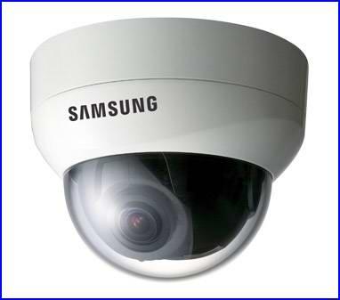 SAMSUNG SID-450 biztonsági kamera, dóm biztonsági kamera, éjjellátó biztonsági kamera