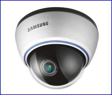 SAMSUNG SID-560 biztonsági kamera, dóm biztonsági kamera, éjjellátó biztonsági kamera