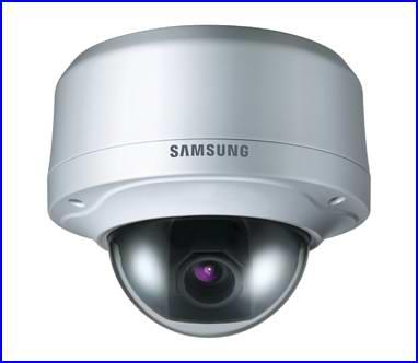 SAMSUNG SCV-2080 biztonsági kamera, éjjellátó biztonsági kamera, dóm biztonsági kamera
