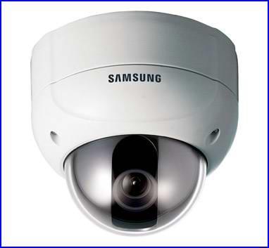 SAMSUNG SCV-2120 biztonsági kamera, dóm biztonsági kamera, éjjellátó biztonsági kamera