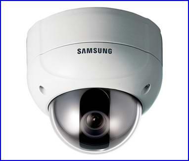 SAMSUNG SVD-4300 biztonsági kamera, éjjellátó biztonsági kamera, dóm biztonsági kamera