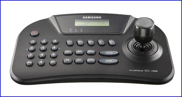 SAMSUNG SCC-1010 biztonsági kamera vezérlő, PTZ biztonsági kamera vezérlő