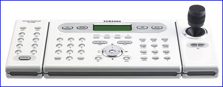 SAMSUNG SCC-3100 biztonsági kamera vezérlő, PTZ biztonsági kamera vezérlő