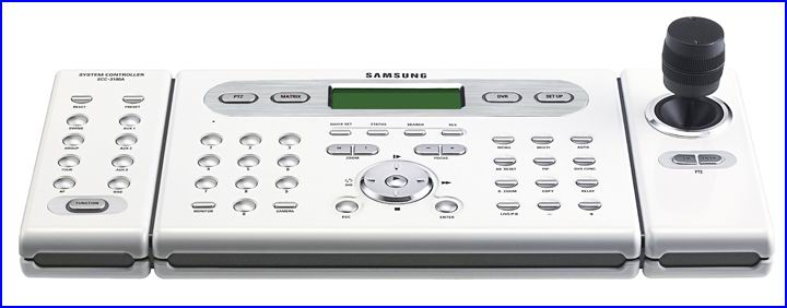 SAMSUNG SCC-3100 biztons�gi kamera vez�rl�, PTZ biztons�gi kamera vez�rl�