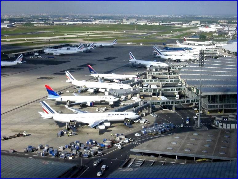 CDG - Charles de Gaulle nemzetközi repülőtér Párizs - SAMSUNG biztonsági kamerák