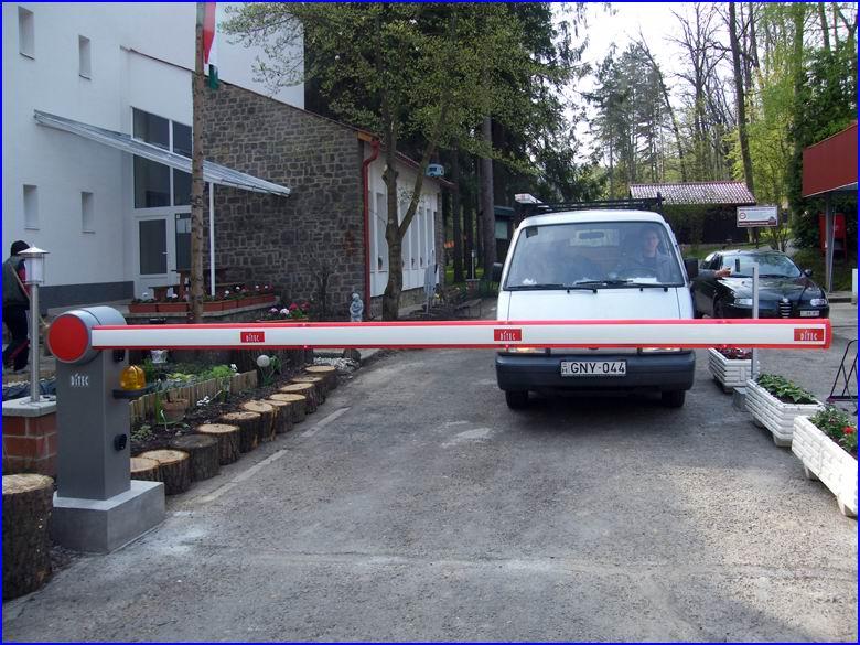 Biztonságtechnika referencia Mediano Thermal Camping - CRYPTEX beléptető rendszer