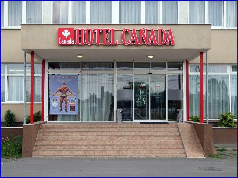 Biztonságtechnika referencia Hotel Canada