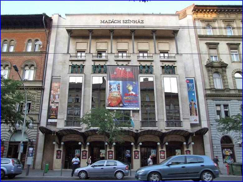 Biztonságtechnika referencia - Madách színház