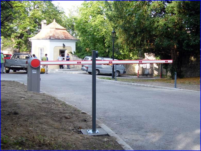 Biztonságtechnika referencia Teleki Wattay Kastély park