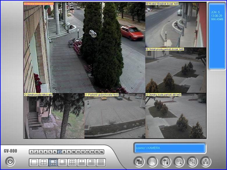 Biztonságtechnika Tököl városháza