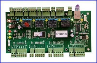 CRYPTEX beléptető rendszer - sokoldalú beléptető rendszer vezérlő panel