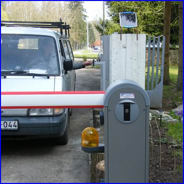 CRYPTEX beléptető rendszer sorompókhoz és parkoló rendszerekhez is