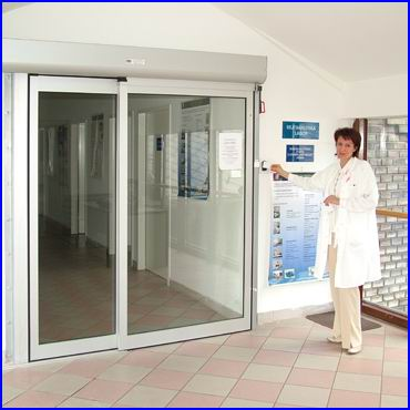 CRYPTEX beléptető rendszer automata ajtókhoz és kimagasló védelmet igénylő helyekre