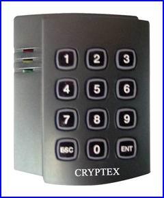 CRYPTEX beléptető rendszer CR-K641 számkódos kártyaolvasó