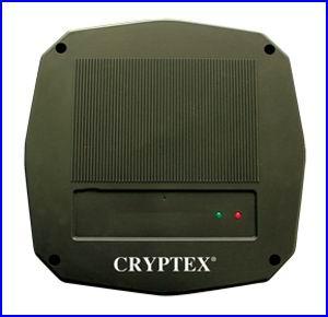 CRYPTEX bel�ptet� rendszer CR-851RB nagy hat�t�v� k�rtyaolvas�