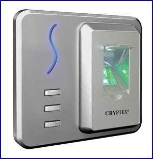 CRYPTEX bel�ptet� rendszer CR-F1004 k�rtyaolvas� �s ujjlenyomat olvas�