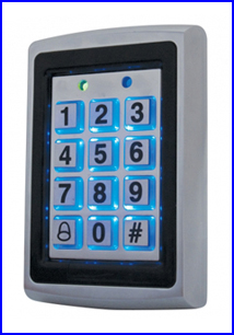 CRYPTEX beléptető rendszer CR-K602 vandálvédett számkódos kártyaolvasó