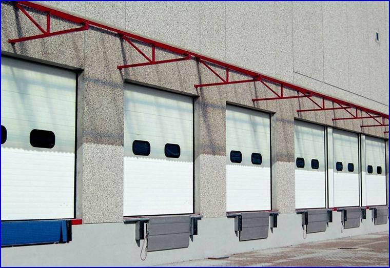 DITEC ipari kapu raktárbázisokhoz és logisztikai központokhoz