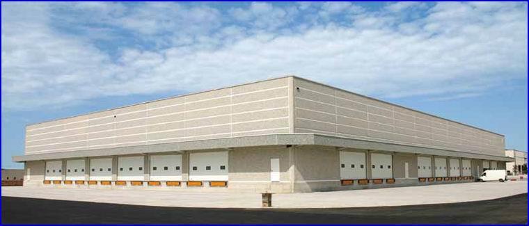 DITEC ipari kapuk logisztikai központokhoz
