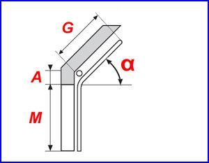 Normál tetőkövető sínvezetés