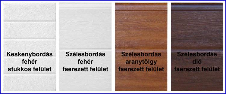 ECOTOR EASY gar�zskapu panelek