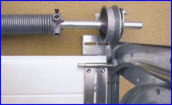 ECOTOR garázskapu kábeldob és belső acélsodrony vezetés