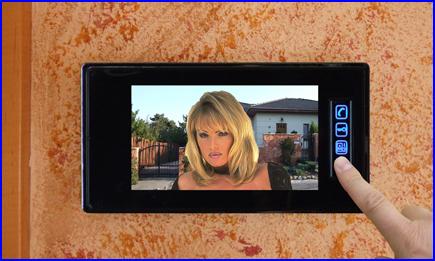 FUTURA színes videós kaputelefon