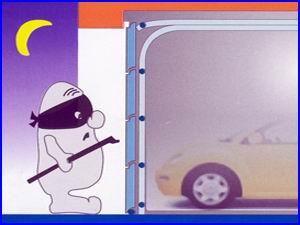 Egy minőségi garázskapu védi autóját