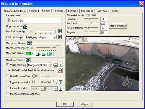 GEOVISION megfigyelő rendszer
