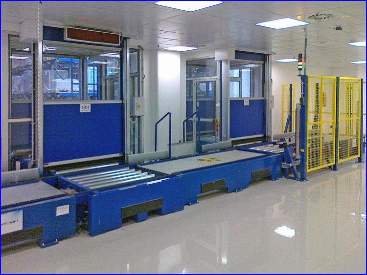 Chinoin gyógyszergyár - Miskolc - 4db SMART ipari gyorskapu
