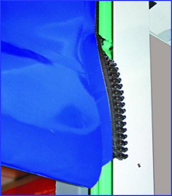 SECTOR RESET gyorskapu önjavító technológiával az első nyitáskor visszafűzi önmagát a megvezetőbe