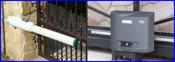 DITEC LUXO ipari kapunyitó motor szárnyas kapukhoz, DITEC CROSS ipari kapunyitó motor tolókapukhoz