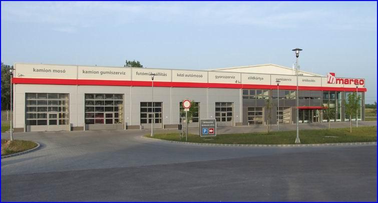 ECOTOR szekcionált ipari kapu - MARSO gumi Dunaharaszti