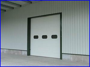 ECOTOR ipari kapu kerekített ablakokkal