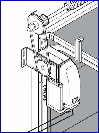 DOD ipari kapunyitó láncos kiegészítő készlettel