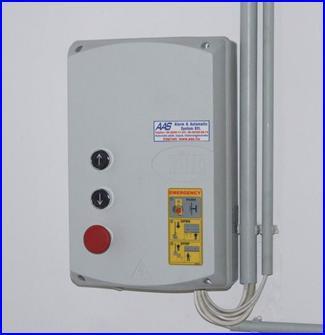 DITEC E1A sokoldalú vezérlő ipari kapunyitó motorokhoz