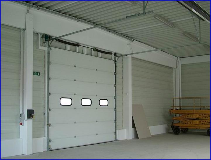 DITEC ipari kapunyitó automatika szekcionált kapukra
