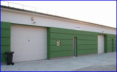 ECOTOR szekcionált ipari kapu raktárakhoz is