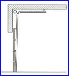 ECOTOR ipari kapu - emelt, avagy magasított sínvezetés