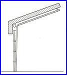 ECOTOR ipari kapu - normál tetőkövető sínvezetés