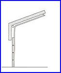 ECOTOR ipari kapu - emelt tetőkövető sínvezetés