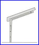 ECOTOR ipari kapu - alacsony tetőkövető sínvezetés