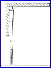 ECOTOR ipari kapu - függőleges sínvezetés
