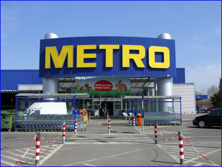 Ipari gyorskapu referencia - Metro áruház Szeged