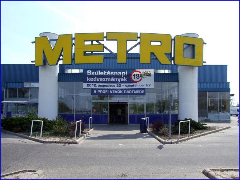 Ipari gyorskapu referencia - Metro áruház Budapest M3